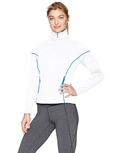 Spyder Women's Premier Light Weight Hybrid Stryke Jacket, White/French Blue, XX-Large image 1