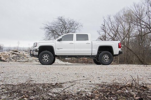 Rough Country W2W Nerf Bar Hoop Steps (fits) 2014-2018 Chevy Silverado GMC Sierra | Double Cab | 6.5 FT | Bed Steps image https://images.buyr.com/YT2rHg1fCA8RE7kFSipziQ.jpg1