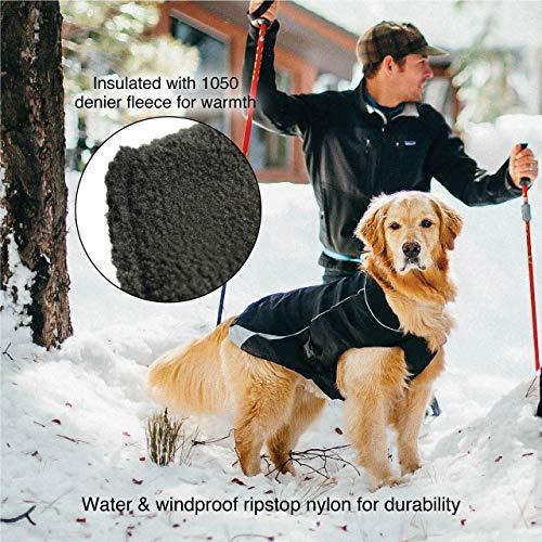 Kurgo 2001 North Country Dog Coat, Dog Winter Jacket, Waterproof Dog Jacket, Dog Snow Jacket & Windproof Dog Coat, Reflective Dog Fleece, Coastal Blue, X-Large, X-Large image https://images.buyr.com/_10kYcEqBcPh8uiHr0RHeQ.jpg1