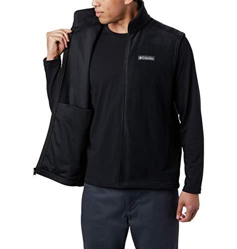 Columbia Men's Size Steens Mountain Full Zip Soft Fleece Vest, Black - legacy, Large Tall image https://images.buyr.com/_6gSeiaSspeUv-yNE3DOtw.jpg1
