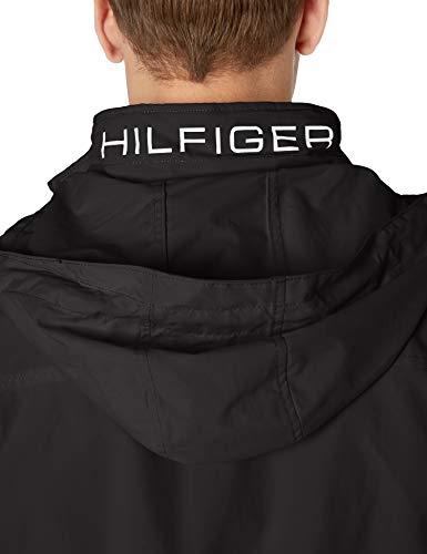 Tommy Hilfiger Men's Lightweight Waterproof Regatta Jacket, CS DEEP Knit Black, 2X-Large image https://images.buyr.com/_knqxdHo3iK1kv5zg1ISYQ.jpg1