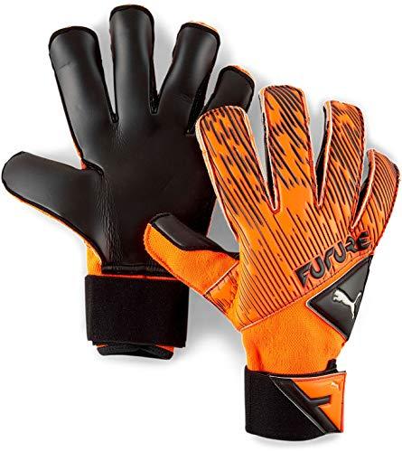 Puma - Mens Future Grip 5.2 Sgc Gloves, Size: 10, Color: Shocking Orange/Puma Black/Puma White image 1