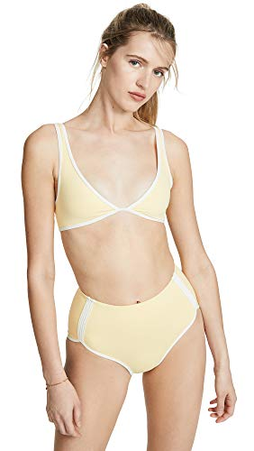 LSpace Women's Mickee Bikini Top, Daisy, Yellow, Large image 1
