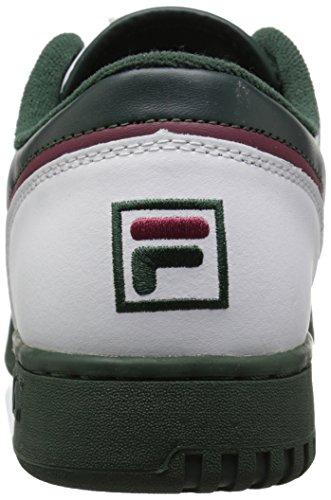 Fila Girls Original Fitness Fashion Sneaker, White/Sycamore/Black Red, 9 Little Kid image https://images.buyr.com/bg8jQg0OBq0C5RsgAV5xqg.jpg1