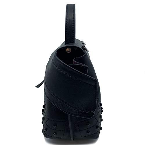 Tod's Wave Micro Gommini Black Leather Ladies Satchel Bag XBWAMRWD001MTI-B999 image https://images.buyr.com/bjfeDtgP9ryADJyPcPMeZg.jpg1