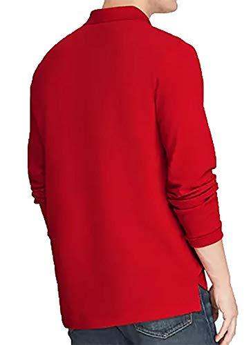POLO RALPH LAUREN Men's Long Sleeve Mesh Polo Shirt (Medium, RL Red) image https://images.buyr.com/c21sw9TgVWAUkwqd6Sr6Fg.jpg1