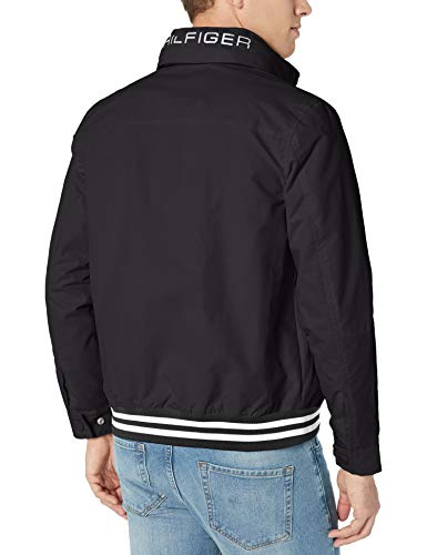 Tommy Hilfiger Men's Lightweight Waterproof Regatta Jacket, CS DEEP Knit Black, 2X-Large image https://images.buyr.com/c6SsPXR8W4qUdjpaJP57fw.jpg1