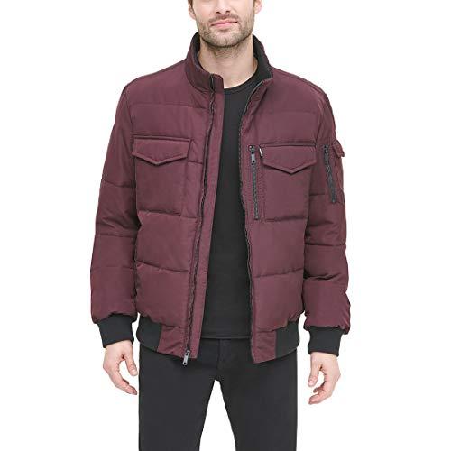 DKNY Men's Quilted Performance Bomber Jacket, oxblood, Large image https://images.buyr.com/d9m_OzANMSOYS6JB2h6iJA.jpg1