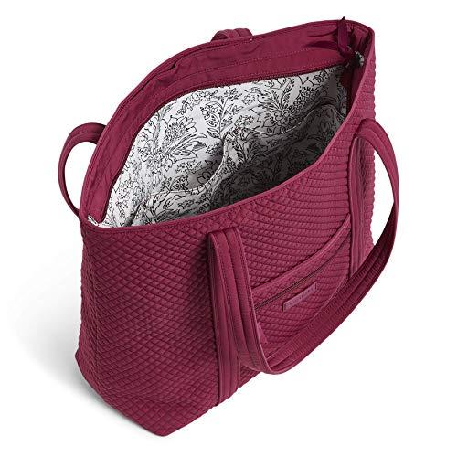 Vera Bradley Microfiber Vera Tote Bag, Raspberry Radiance image https://images.buyr.com/dPdhzcdx6m2-3zlczDxeeA.jpg1
