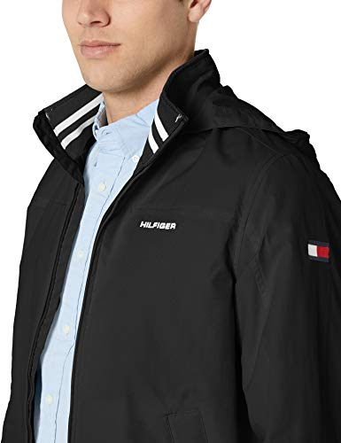 Tommy Hilfiger Men's Lightweight Waterproof Regatta Jacket, CS DEEP Knit Black, 2X-Large image https://images.buyr.com/dZ6DTB94GCL7QLPAyEoZfw.jpg1