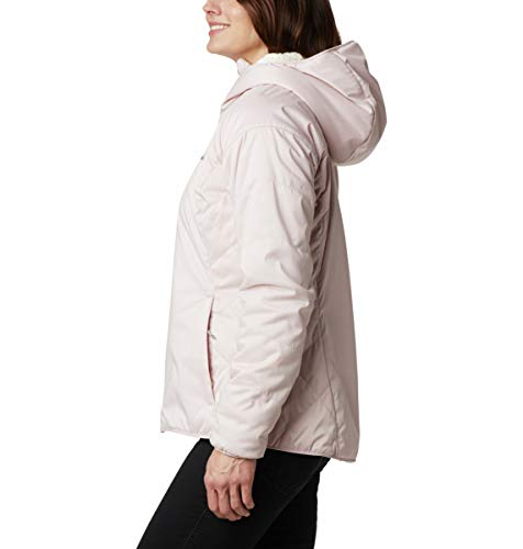 Columbia Women's Kruser Ridge II Plush Softshell Jacket, Mineral Pink Heather, Small image https://images.buyr.com/d_g-VmKHK5C6SPGu0MvBJQ.jpg1