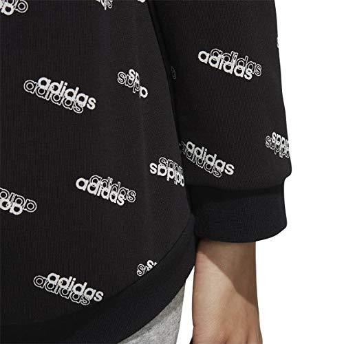 adidas Women's Favorites Hooded Sweatshirt Black/White XX-Small image https://images.buyr.com/dfCBO5hFFDIGNLoRV35Gvw.jpg1