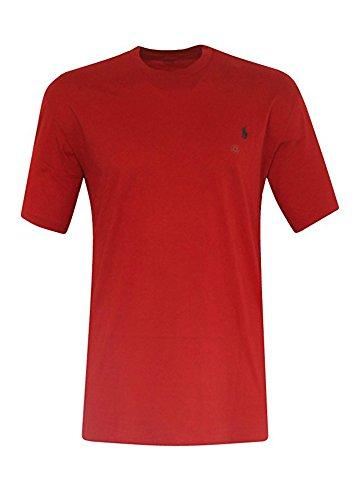 Polo Ralph Lauren Men's Big & Tall Pony Logo Crew Neck Jersey T-Shirt (1X Big, RED RL 2000) image 1