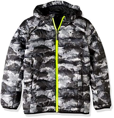 Spyder boys Boys Geared Hoody Synthetic Down Jacket