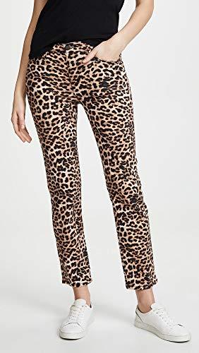 HUDSON Women's Nico Midrise Cigarette Jeans, Classic Leopard, Tan, Print, 26 image https://images.buyr.com/f7QTUtx2ztF7Dg2fsqDxpA.jpg1