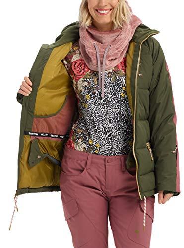 Burton Womens Keelan Jacket, Forest Night/Rose Brown, Medium image https://images.buyr.com/fG_u2FyPJReIW5cJalPqEg.jpg1