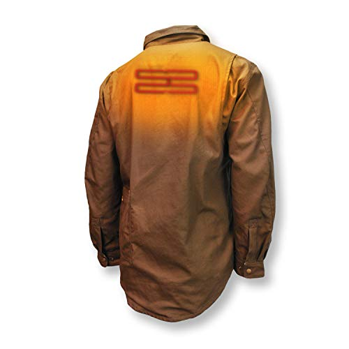 DEWALT DCHJ081 Heated Heavy Duty Shirt Jacket with 2.0Ah Battery and Charger image https://images.buyr.com/fHGnTwEmYV954oayqnHNaQ.jpg1