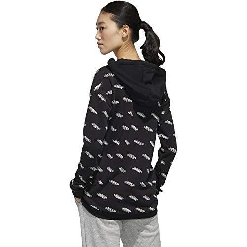 adidas Women's Favorites Hooded Sweatshirt Black/White XX-Small image https://images.buyr.com/g2u32mqNm3GtZbnaCMKtjw.jpg1