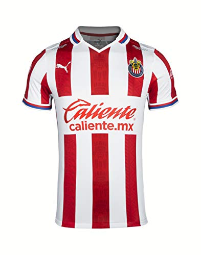 PUMA 2020-21 Chivas Authentic Home Jersey - Red-White Large image 1