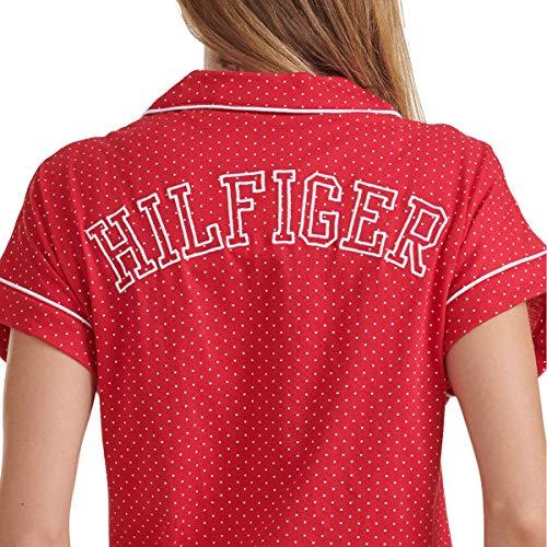 Tommy Hilfiger Womens 2 Piece Pajama Shorts Set (Classic Red Dot, Large) image https://images.buyr.com/iXC8nzzDPBKbbuU17-SLPw.jpg1