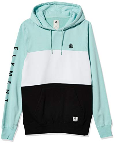 Element Men's Pullover Hoodie, Canal Blue, M image 1