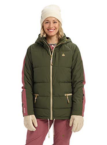 Burton Womens Keelan Jacket, Forest Night/Rose Brown, Medium image https://images.buyr.com/jC12o88xwgMgd3yWVzMIfg.jpg1