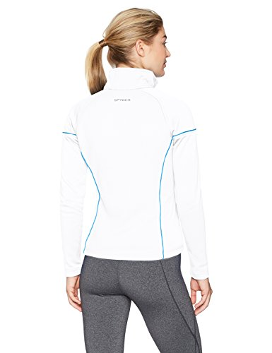 Spyder Women's Premier Light Weight Hybrid Stryke Jacket, White/French Blue, XX-Large image https://images.buyr.com/jUXS26Yh4xGkQf9KQTRtsA.jpg1