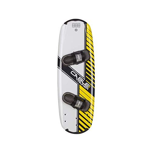 Ronix Cable Park Trainer Wakeboard - Yellow/White - 132 image 1