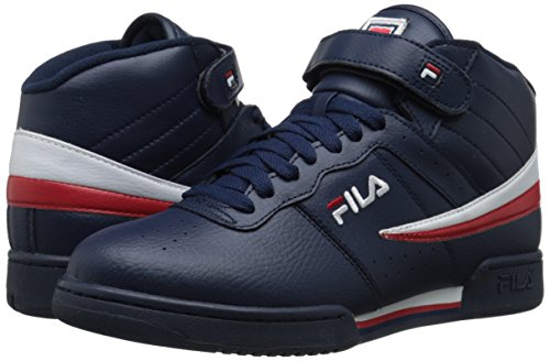 Fila Men's f-13v lea/syn Fashion Sneaker, Navy/White Red, 8.5 M US image https://images.buyr.com/k1tZsGOgEFig6pPfWxCpBQ.jpg1