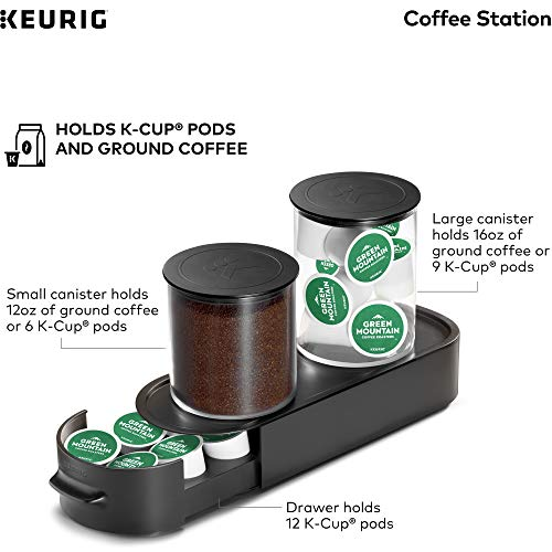K CUP Storage Display Rack Home or Office Holds 12 Pods Countertop Free Standing