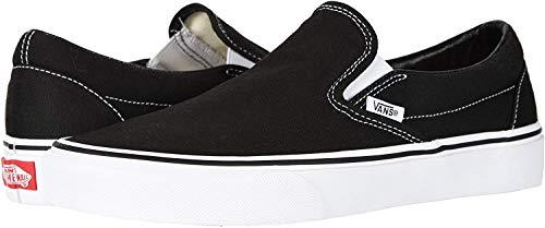 Vans, Classic Slip-On (Black/White - 6 W/4.5 M) US image 1