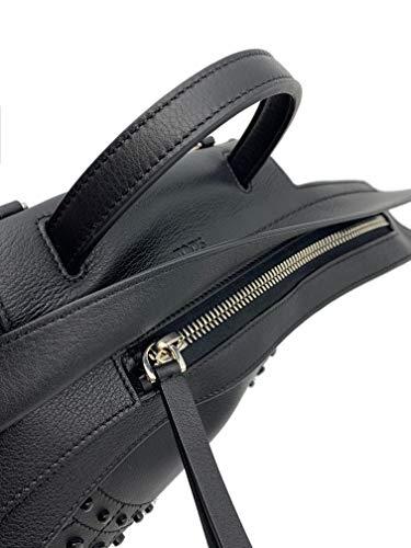 Tod's Wave Micro Gommini Black Leather Ladies Satchel Bag XBWAMRWD001MTI-B999 image https://images.buyr.com/kR_dYRuQ7jZVRDP2vgQe4Q.jpg1