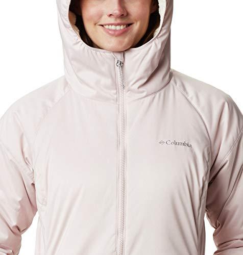 Columbia Women's Kruser Ridge II Plush Softshell Jacket, Mineral Pink Heather, Small image https://images.buyr.com/kXMVaSNQuVEs7UCmBz_zDQ.jpg1