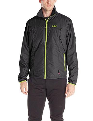 Helly Hansen Men's Regulate Midlayer Jacket, Black/Lime, XX-Large image 1