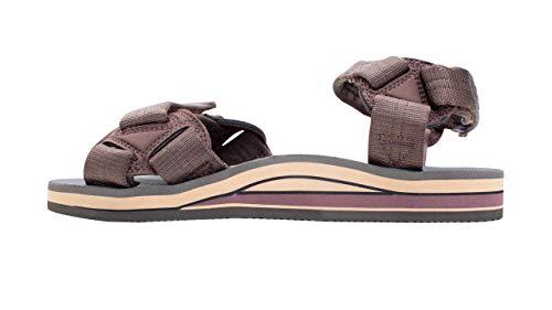 Rainbow Sandals Men's Double Layer Rubber Trekker w/Adjustable Velcro Straps Brown, Men's Large / 9.5-10.5 D(M) US image https://images.buyr.com/lX1HULe88B8WufmrdUt4sQ.jpg1
