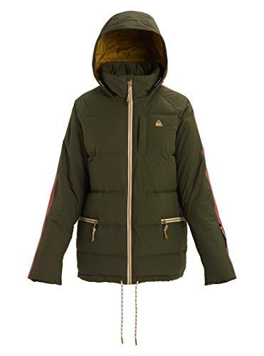 Burton Womens Keelan Jacket, Forest Night/Rose Brown, Medium image 1