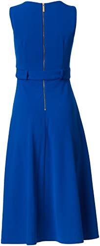 Calvin Klein Women's Sleeveless A-line Belted Midi Dress, Capri, 2 image https://images.buyr.com/m1k6yVxSBOw9BZsbMTMrew.jpg1