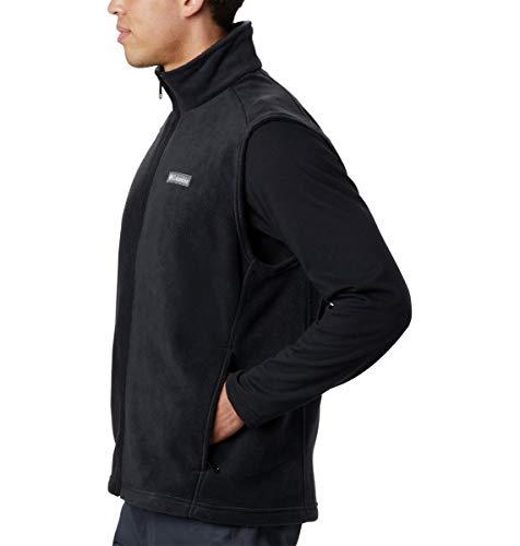 Columbia Men's Size Steens Mountain Full Zip Soft Fleece Vest, Black - legacy, Large Tall image https://images.buyr.com/mGnOSwvsXqhcb0o8AHArJQ.jpg1