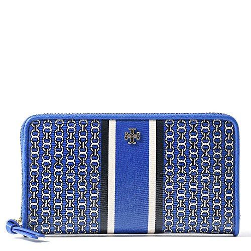 Tory Burch Gemini Link Zip Continental Wallet, Jewel Blue image https://images.buyr.com/okx49jr6I-6_ZoVuMKYFZQ.jpg1