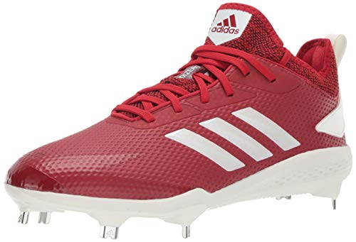 adidas Men's Adizero Afterburner V, Power Red/Cloud White/Black, 7.5 M US image 1