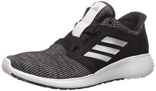 adidas Women's Edge Lux 3 Running Shoe, Black/Silver metallic/orchid tint, 6 M US image 1
