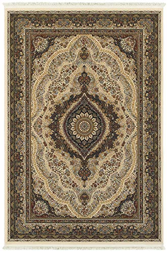 Oriental Weavers Masterpiece Area Rug, 3' x 5', Garnet Black image 1