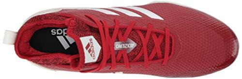 adidas Men's Adizero Afterburner V, Power Red/Cloud White/Black, 7.5 M US image https://images.buyr.com/q7i393Kf20qoRHIEG7PJvw.jpg1