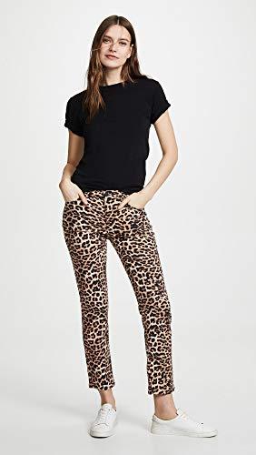 HUDSON Women's Nico Midrise Cigarette Jeans, Classic Leopard, Tan, Print, 26 image https://images.buyr.com/qS0YCJxDydW7uBUNm7Oe2g.jpg1