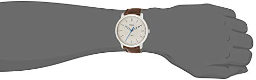 Fossil Men's FS5306 The Minimalist Three-Hand Brown Leather Watch image https://images.buyr.com/qxeBI9M1gvYSJMQhYFRL3Q.jpg1
