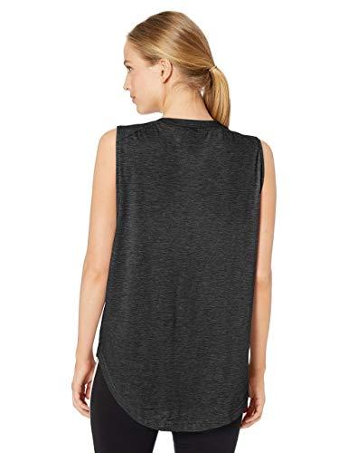 adidas womens ID Winners Muscle Basketball Long Length Sleeveless Training Tank T-Shirt, Black/White, X-Small image https://images.buyr.com/r9_qNQfnsAofWm2ukNcT9w.jpg1