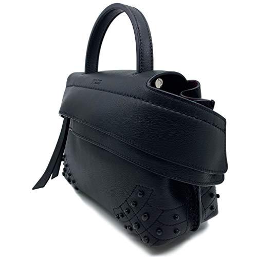 Tod's Wave Micro Gommini Black Leather Ladies Satchel Bag XBWAMRWD001MTI-B999 image https://images.buyr.com/rv3SMfH9bbubNkwH2as4qg.jpg1