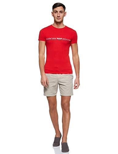 Emporio Armani Men's Megalogo Crew Neck T-Shirt, Red, X-Large image https://images.buyr.com/stXmaZLIos1-QGk9PTJTKw.jpg1