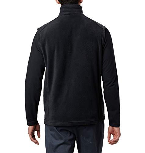 Columbia Men's Size Steens Mountain Full Zip Soft Fleece Vest, Black - legacy, Large Tall image https://images.buyr.com/tIYTlBMHGM1OnybG2cA_Pg.jpg1
