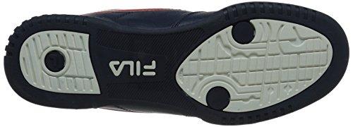 Fila Men's f-13v lea/syn Fashion Sneaker, Navy/White Red, 8.5 M US image https://images.buyr.com/tLXXvF9ZuUGVb6SYAn1bzQ.jpg1